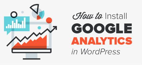 WordPress tutorials: How to Install Google Analytics in WordPress