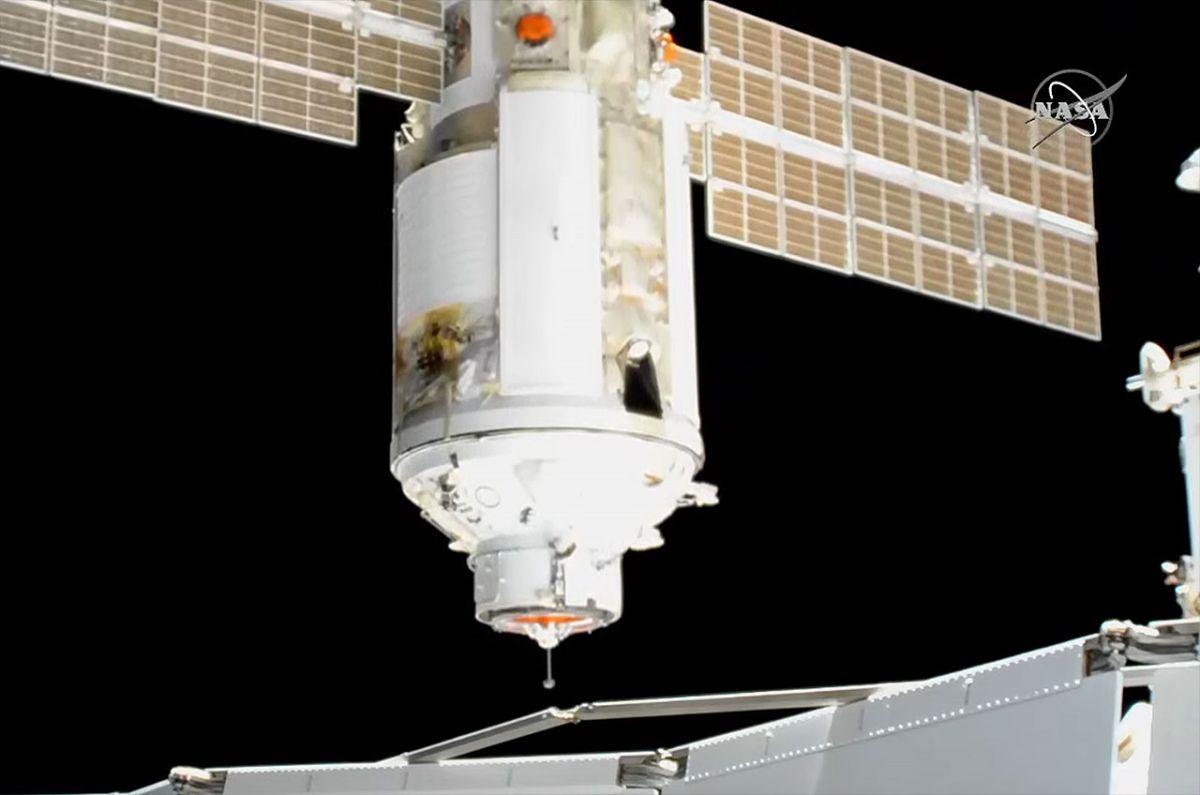 Russia's Nauka multipurpose lab module docks to space station