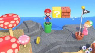 Animal Crossing: New Horizons Super Mario update