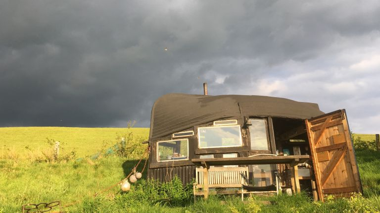 Shed of the Year 2013 - boat roofed shed