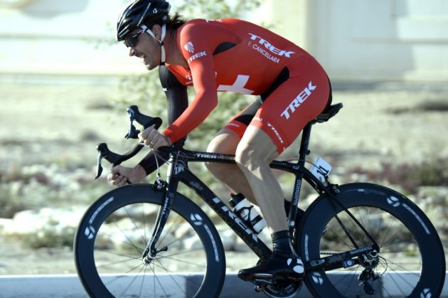 Fabian Cancellara on stage three of the 2014 Tour of Qatar