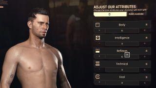 Cyberpunk 2077 attributes