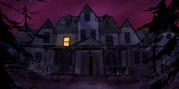 The ominous-looking home from Gone Home