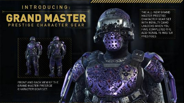 A3 Helmet Level 3 And Pan: Call Of Duty: Advanced Warfare Adds 15 New Prestige Levels