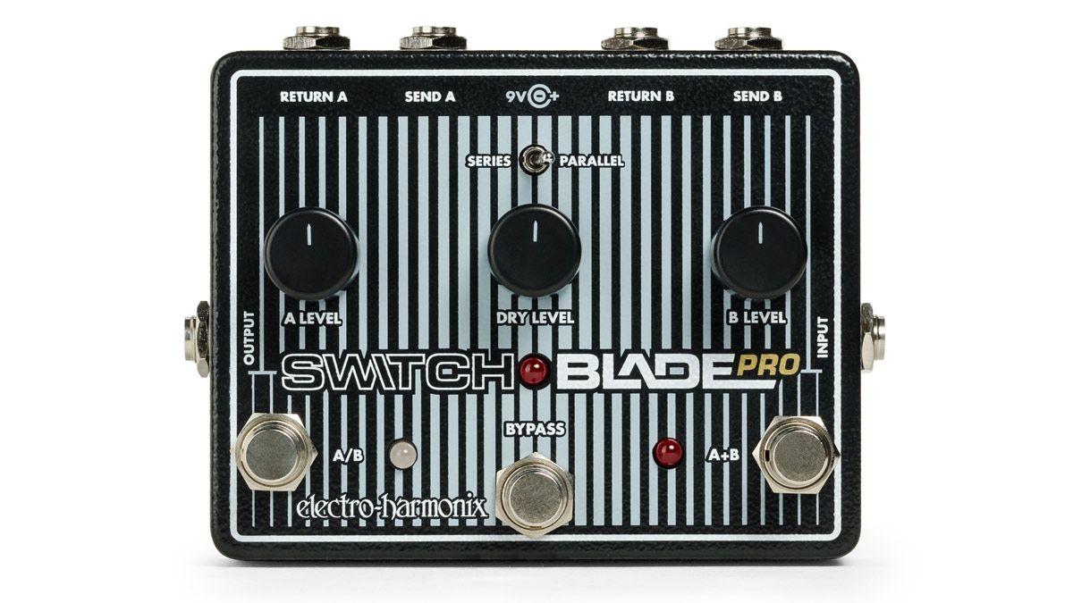 electro harmonix unveils switchblade pro switching pedal musicradar. Black Bedroom Furniture Sets. Home Design Ideas
