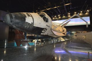 Space Shuttle Atlantis Ready for Display