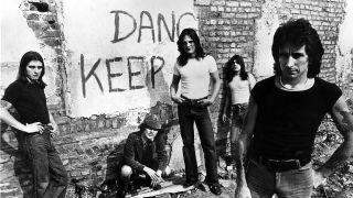 AC/DC in 1977