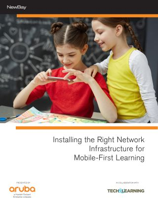 Installing Network Infrastructure for Mobile-First Learning