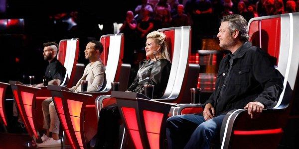 The Voice judges NBC