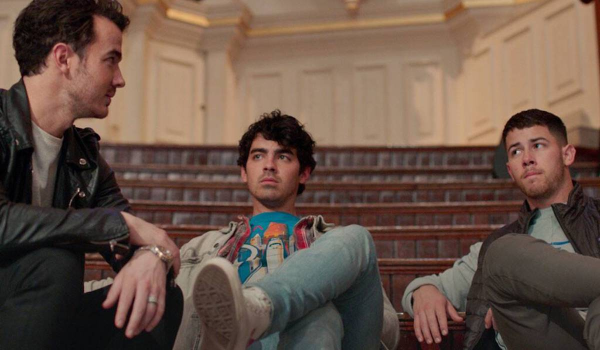 Kevin, Joe and Nick Jonas in Chasing Happiness