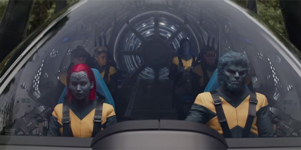 The X-Men heading into space