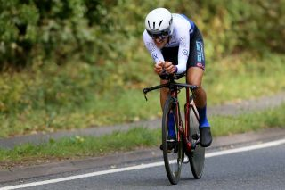 James Shaw (SwiftCarbon) gives it everything on the stage 6 time trial of the 2019 Tour of Britain