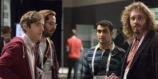 Silicon Valley Richard, Gilfoyle, Dinesh, Erlich HBO