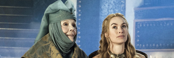 Cersei and Olenna planning Joffrey's wedding