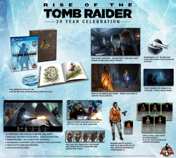 What S Included In The 20 Year Celebration Edition Of Rise Of The