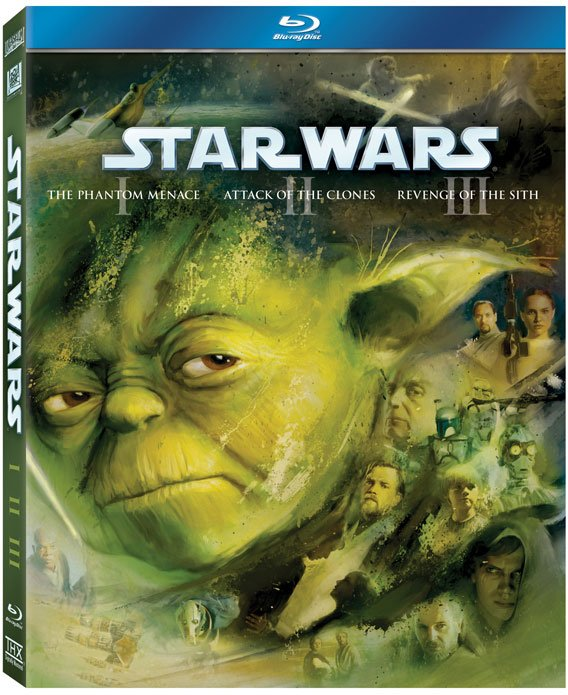 Star Wars Saga On Blu-Ray: Cover Art And Everything Else You Want To Know  #16984