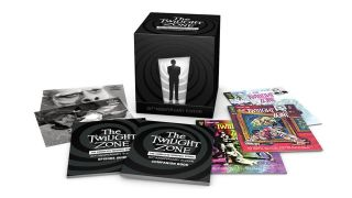 The contents of the new Twilight Zone complete series box set.