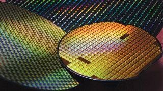 A TSMC Silicon Wafer