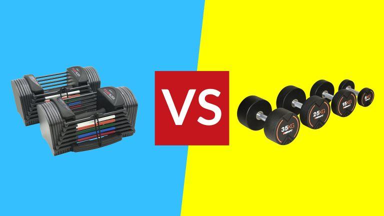 Fixed dumbbells vs adjustable dumbbells
