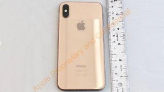 iPhone X gold