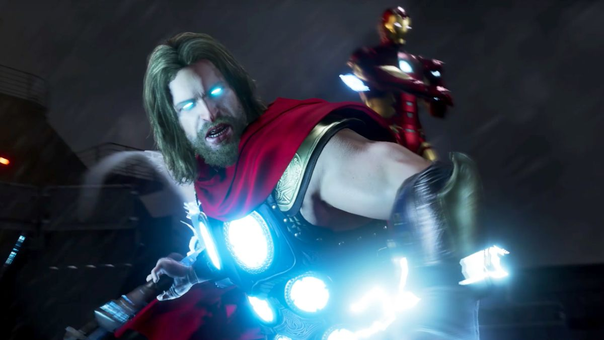 Thor is looking mighty as ever in this Marvel's Avengers gameplay leak from SDCC 2019