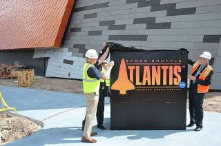 """Space Shuttle Atlantis"" Logo Unveiling"