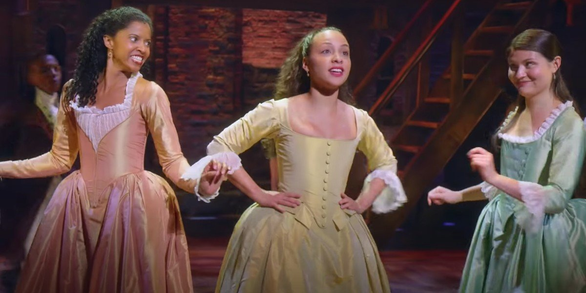 "Screenshot from YouTube Video: ""Schuyler Sisters - Live Clip HD"""