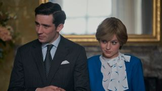 Josh O'Connor as Prince Charles and Emma Corrin as Princess Diana in Netflix's 'The Crown'