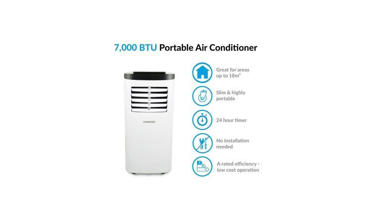 Amcor Portable air conditioner deal