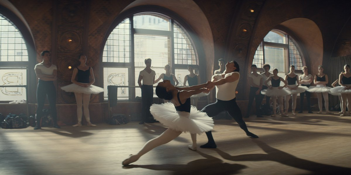 A dance scene in Tiny Pretty Things.