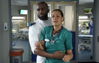 Elle and Jacob's son arrested in Casualty!