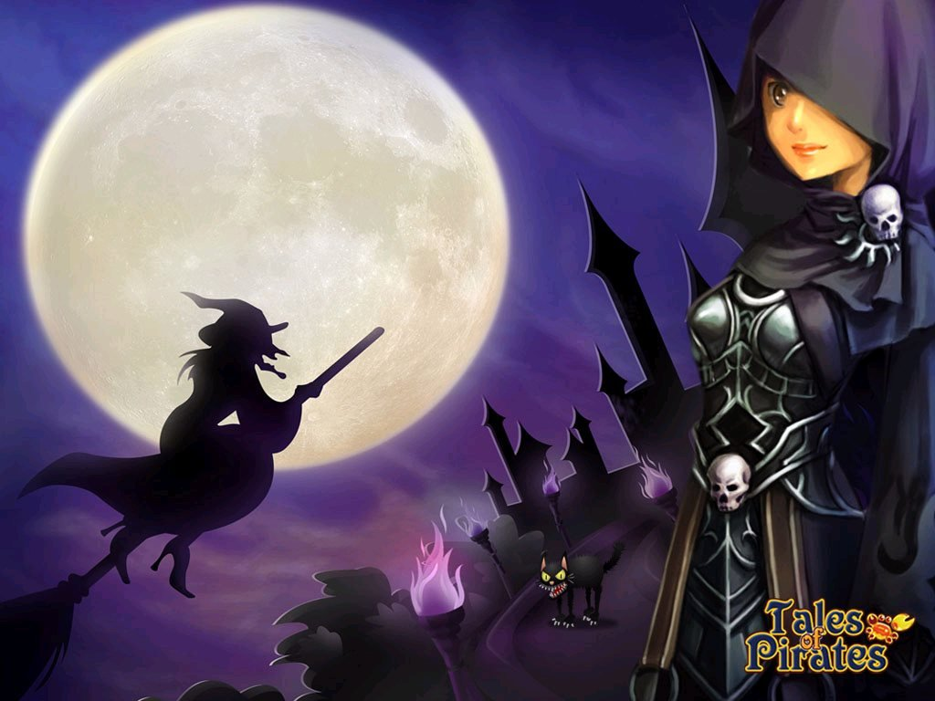 IGG Releases Tales Of Pirates Halloween Wallpapers  #10074