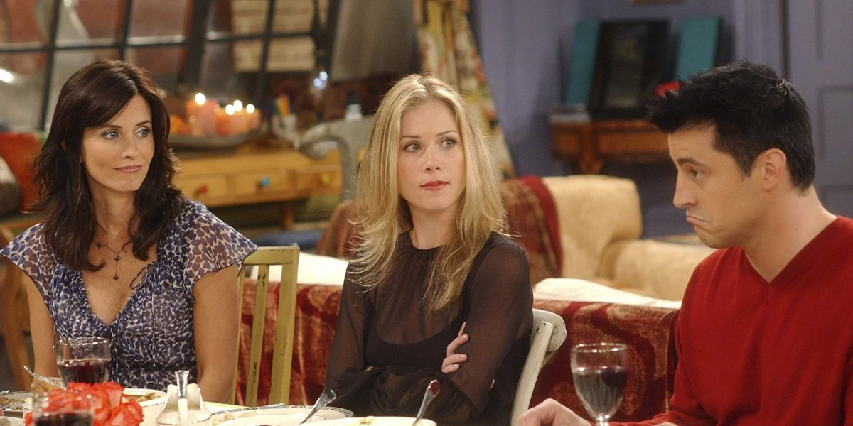 Christina Applegate on Friends