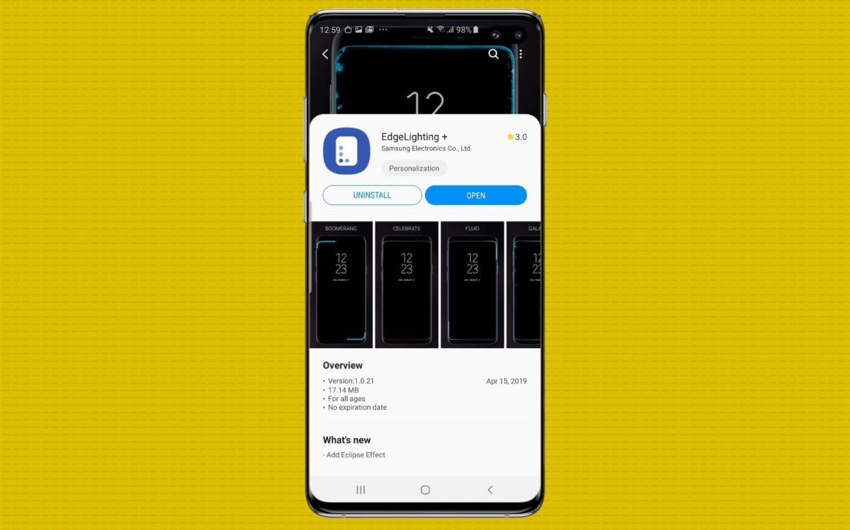 How to Create a Notification Light for Your Galaxy S10 Camera Cut