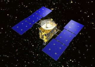Japan's Hayabusa spacecraft visited the Itokawa asteroid.