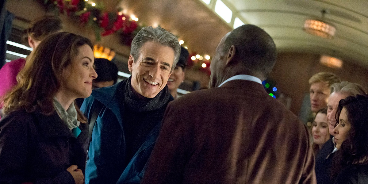 Hallmark Channel's The Christmas Train featuring Dermot Mulroney, Kimberly Williams-Paisley, and Dan
