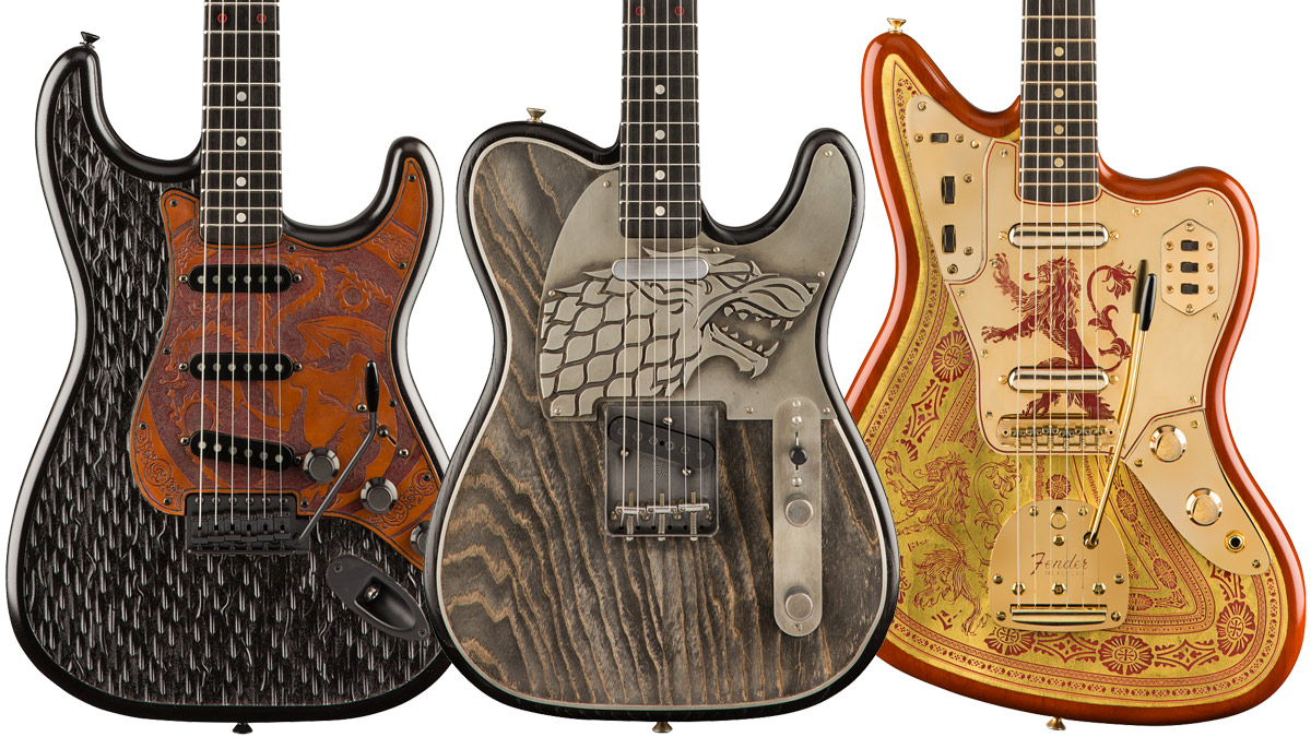 Fender unveils 3 jaw-dropping Game of Thrones Custom Shop