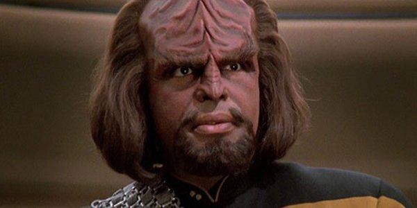 Worf Michael Dorn Star Trek The Next Generation CBS