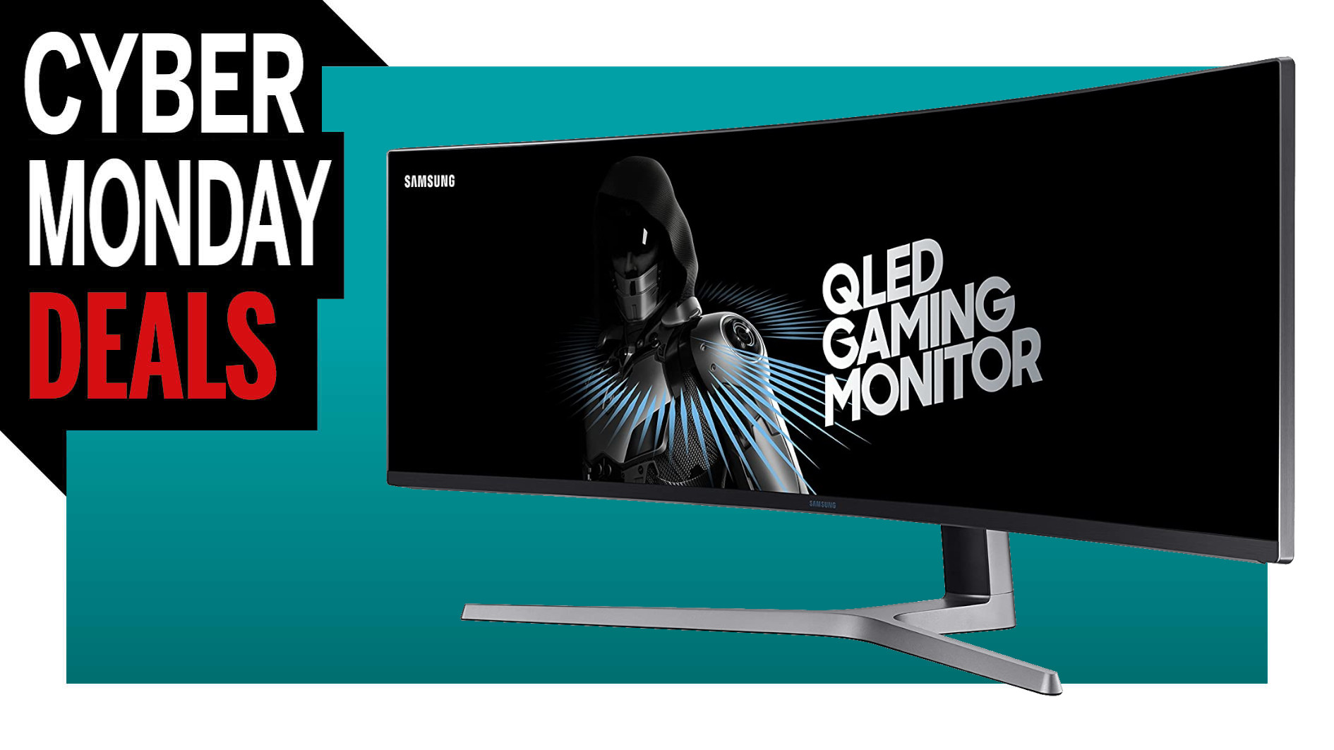 Our favorite curvy gaming monitor, the Samsung CHG90, is $350 off on Amazon