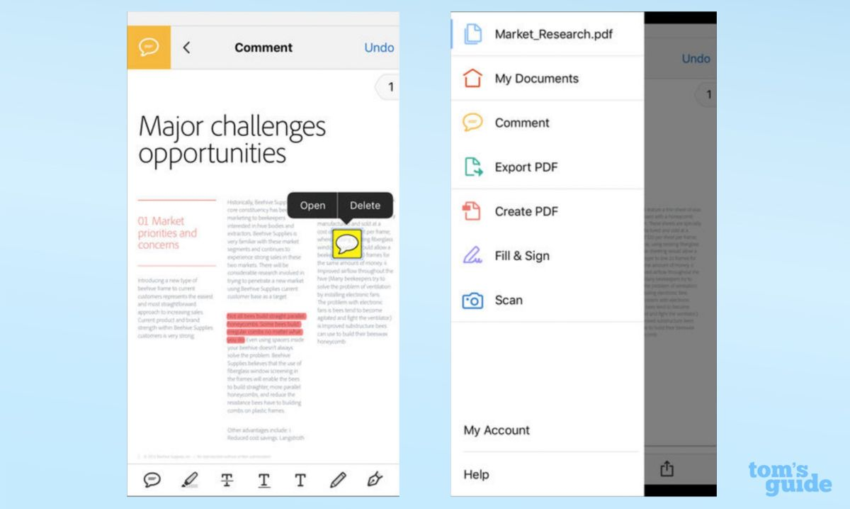 Why Adobe Is Still the Best Mobile PDF Reader | Tom's Guide