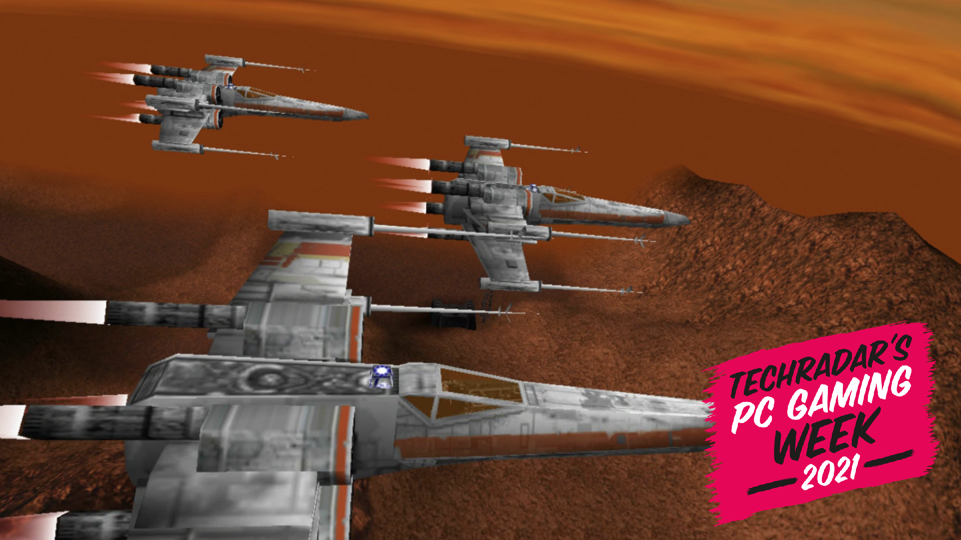 Rogue Squadron with X-Wings standing by