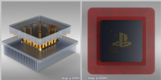 PS5 heatsink concept