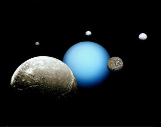 Uranus and Major Moons