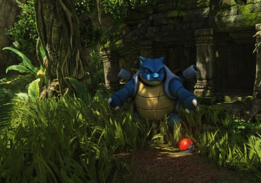 What Pokemon Would Look Like As An Unreal Engine 3 Game #23415