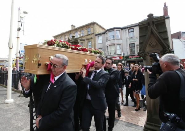 Keith Harris funeral