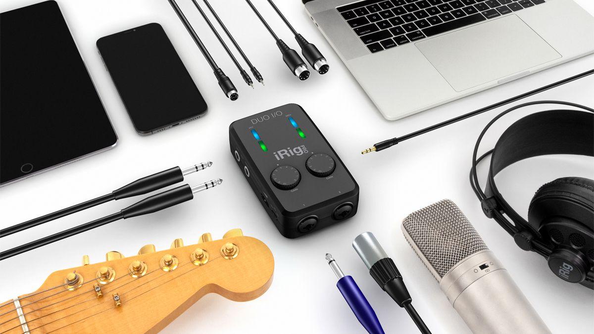 NAMM 2020: IK Multimedia marks 10 years of iRig with the new iRig Pro Duo I/O audio/MIDI interface