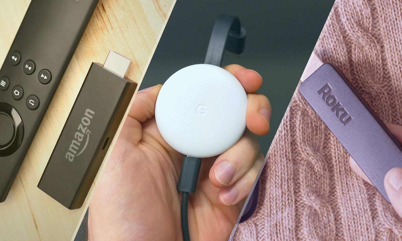 Amazon Fire TV Stick vs  Google Chromecast vs  Roku Stick
