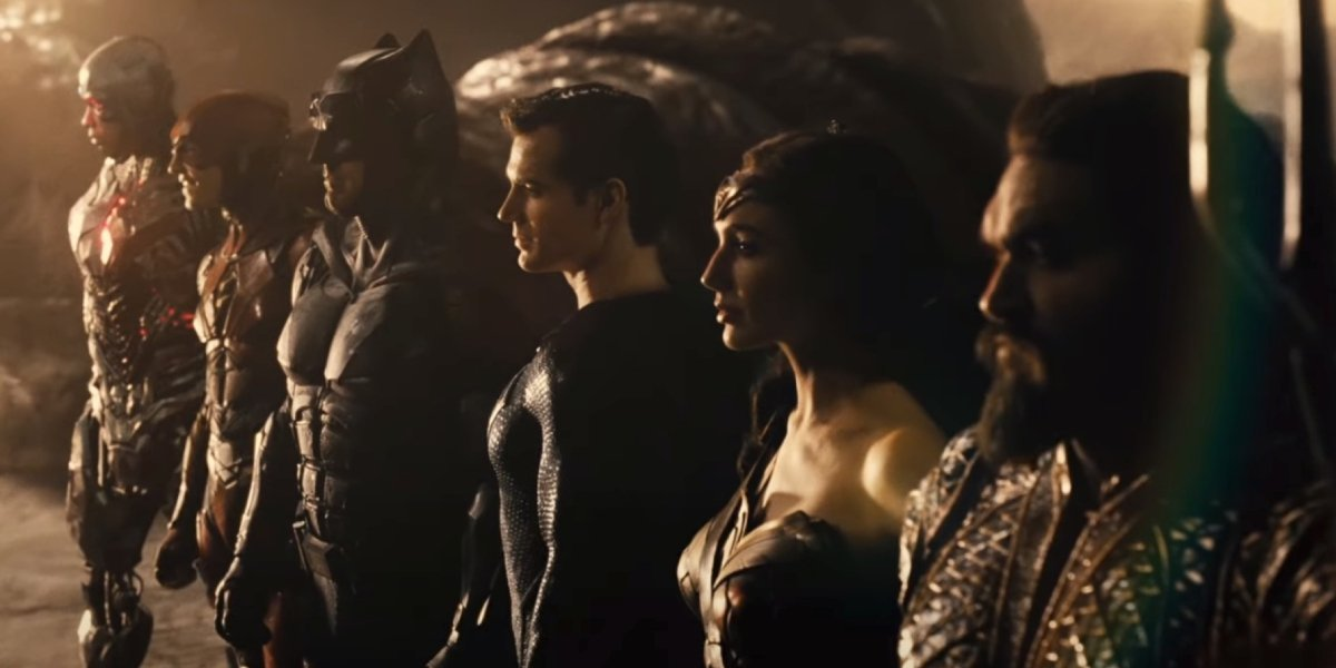 The cast of Zack Snyder's Justice League