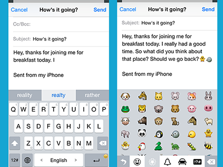 TouchPal 1 0 Review - iOS 8 Keyboard | Tom's Guide
