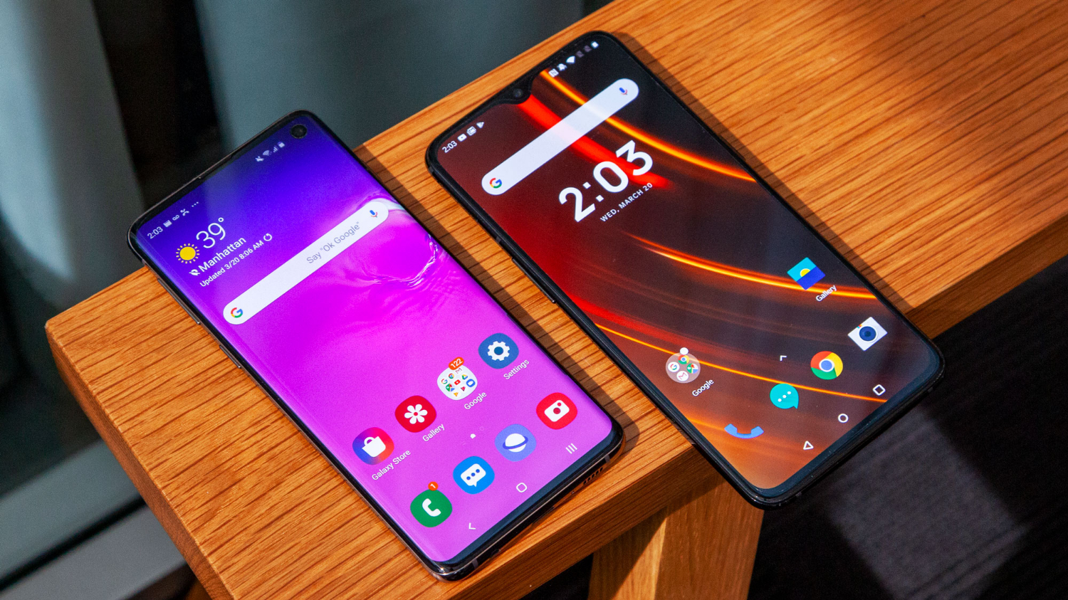 Galaxy S10 vs  OnePlus 6T: The Flagship Killer Takes on the Android
